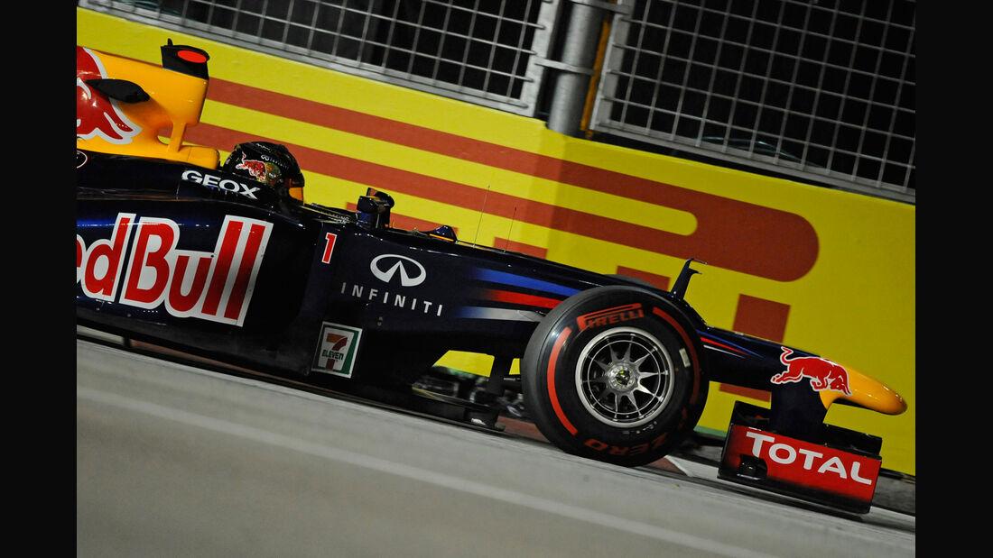 Pirelli Sebastian Vettel GP Singapur 2012