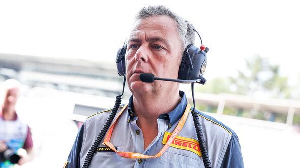 Pirelli-Sportchef Mario Isola - GP Deutschland 2019