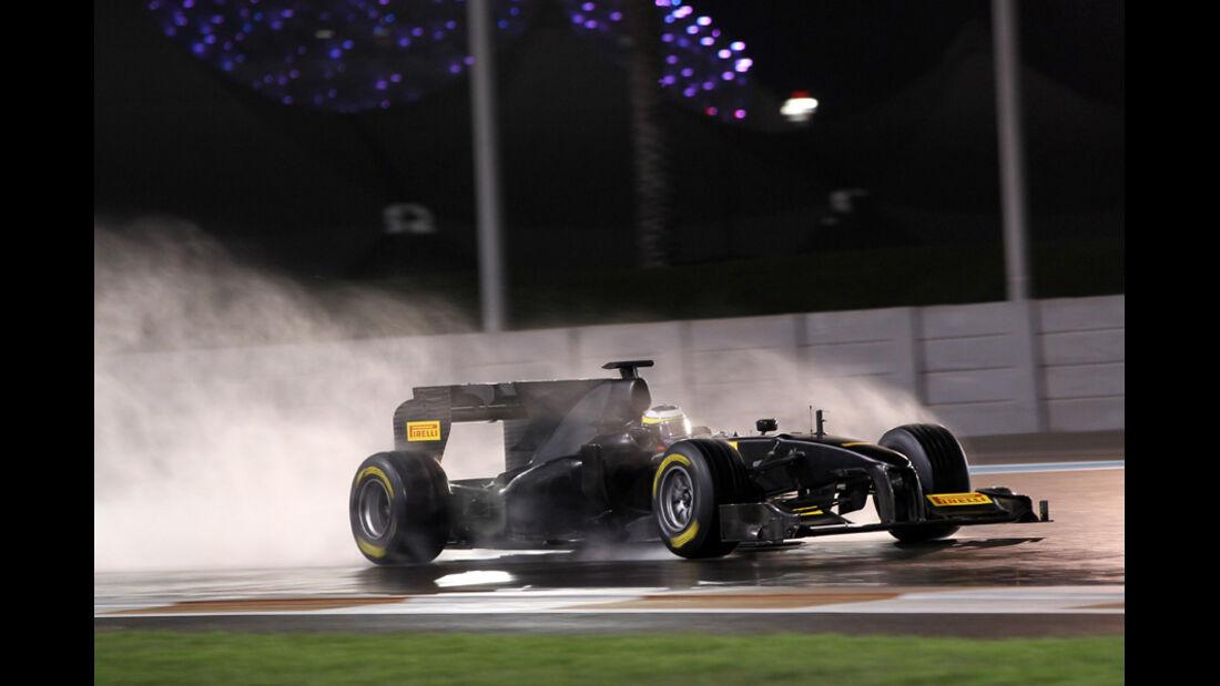 Pirelli-Test 2011