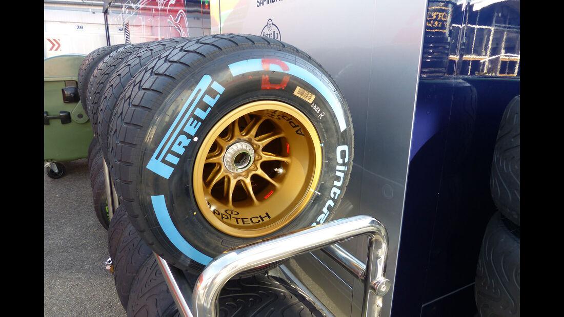 Pirelli - Toro Rosso - GP Ungarn - Budapest - Mittwoch - 22.7.2015
