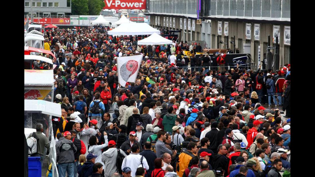 Pitwalk GP Kanada 2010