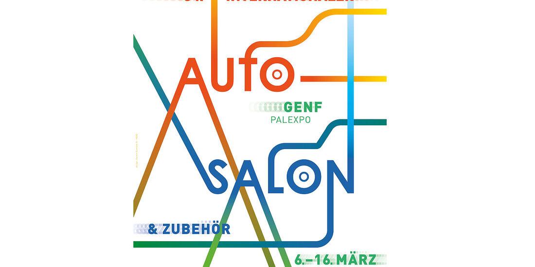 Plakat Autosalon Genf 2014