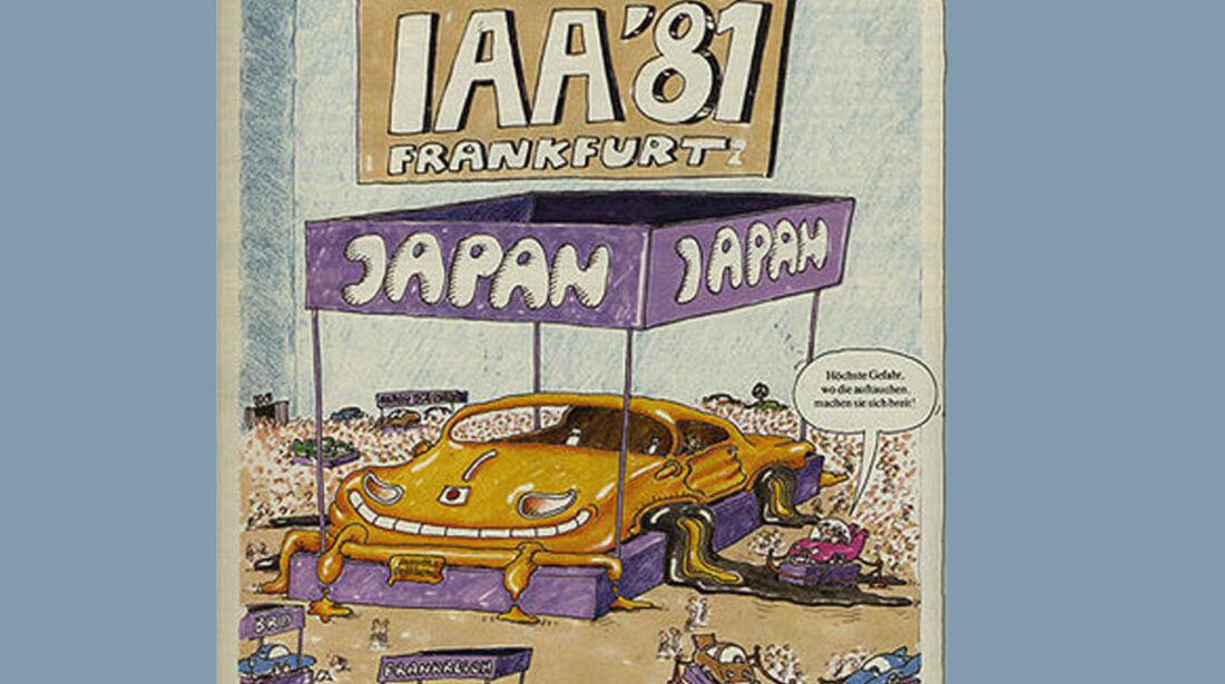 Plakat, IAA 1981