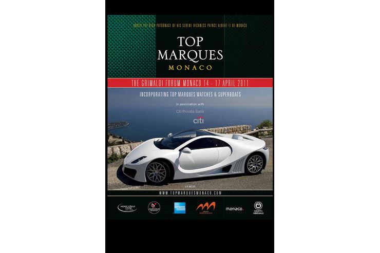 Plakat Top Marques Monaco 2011