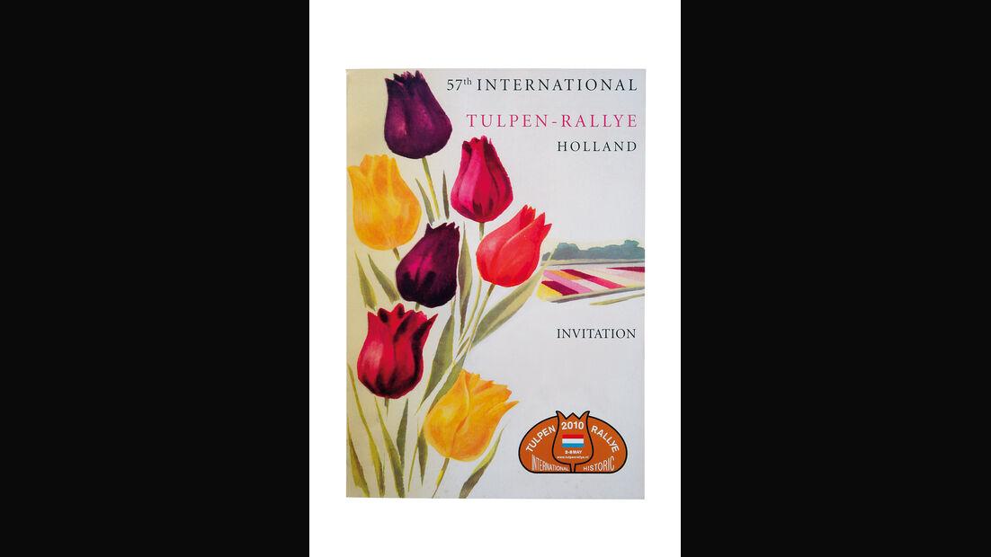 Plakat Tulpen-Rallye 2010
