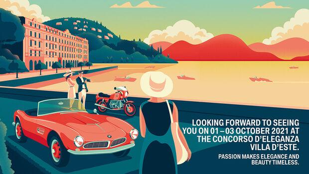 Plakat Villa d'Este 2021