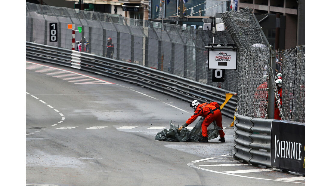 Plane auf der Strecke - GP Monaco 2016
