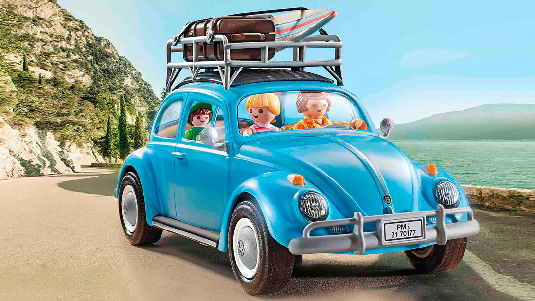 Playmobil VW Käfer und VW Bus T1 Camper