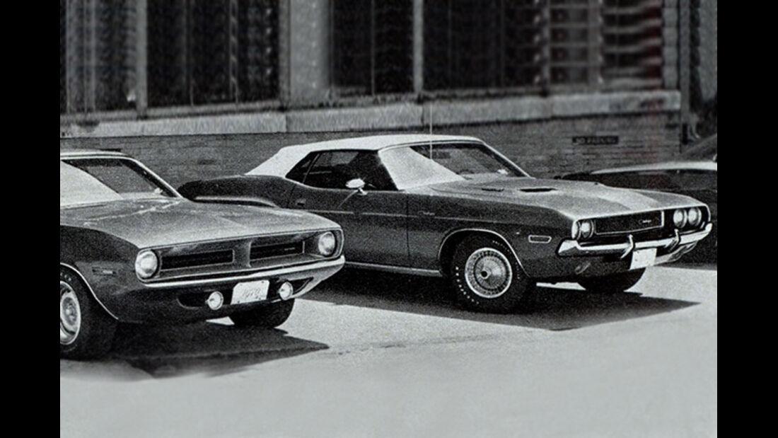 Plymouth Barracuda, Dodge Challenger., IAA 1969