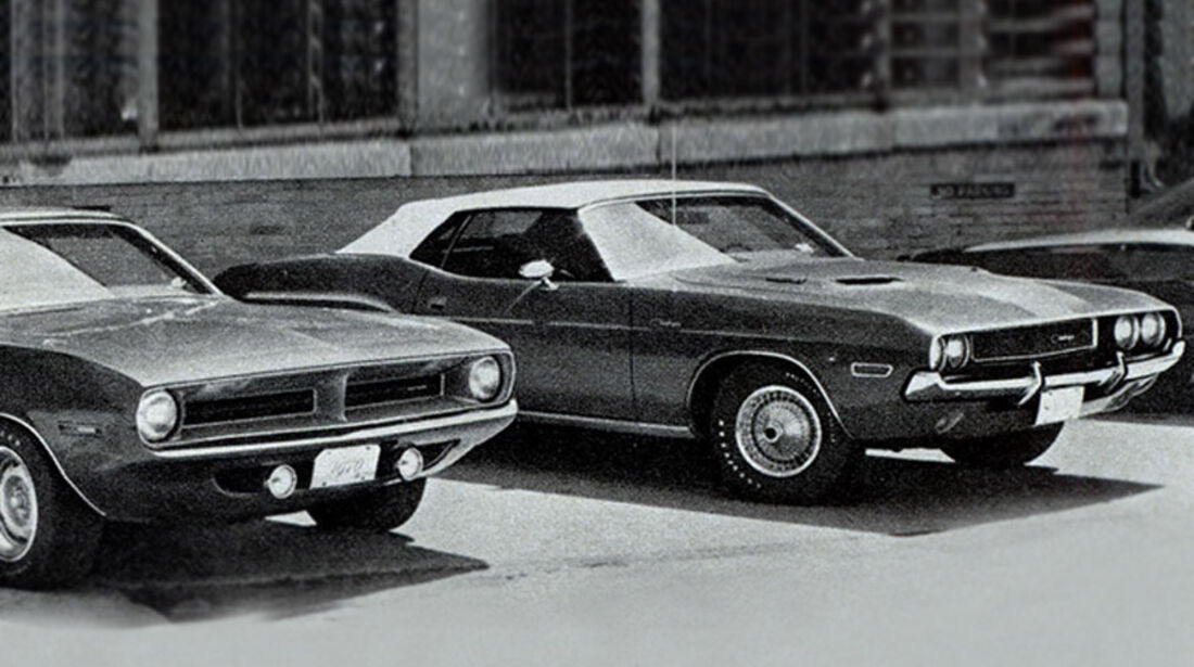 Plymouth Barracuda, Dodge Challenger., IAA 1969