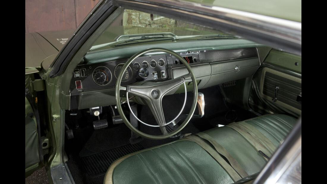 Plymouth Roadrunner 440, Cockpit, Lenkrad