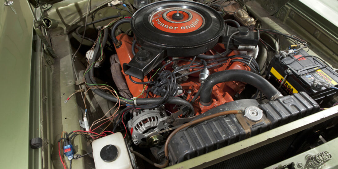 Plymouth Roadrunner 440, Motor