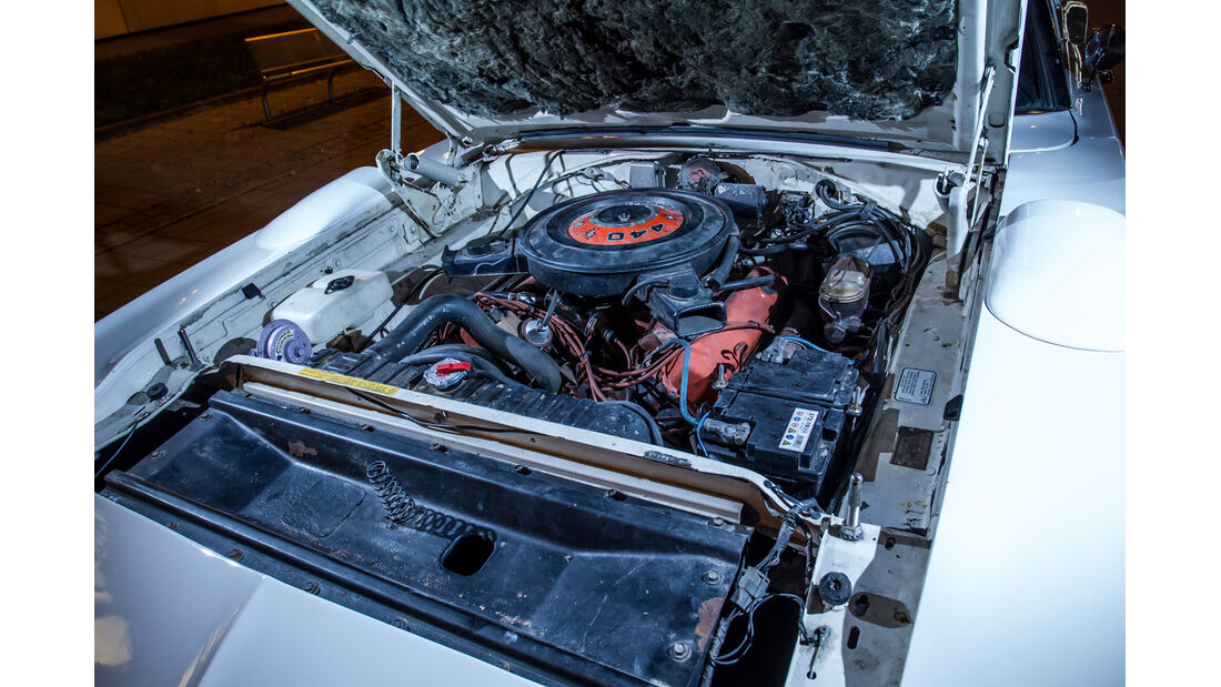 Plymouth Superbird, Motor