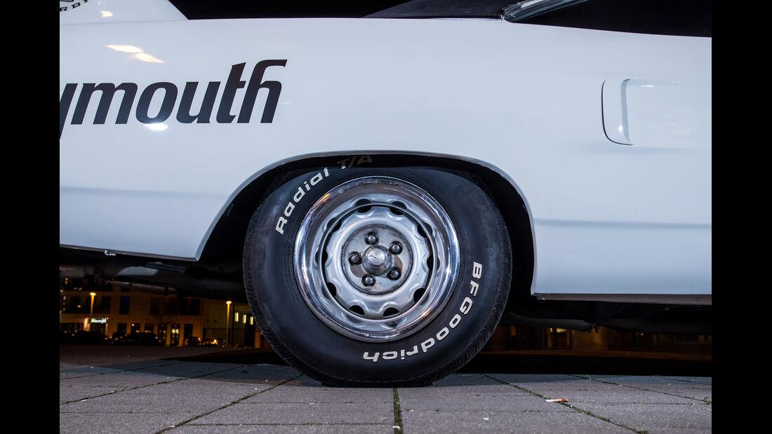 Plymouth Superbird, Rad, Felge