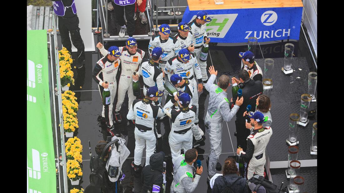Podest - 24h-Rennen Nürburgring 2018 - Nordschleife - 13.5.2018