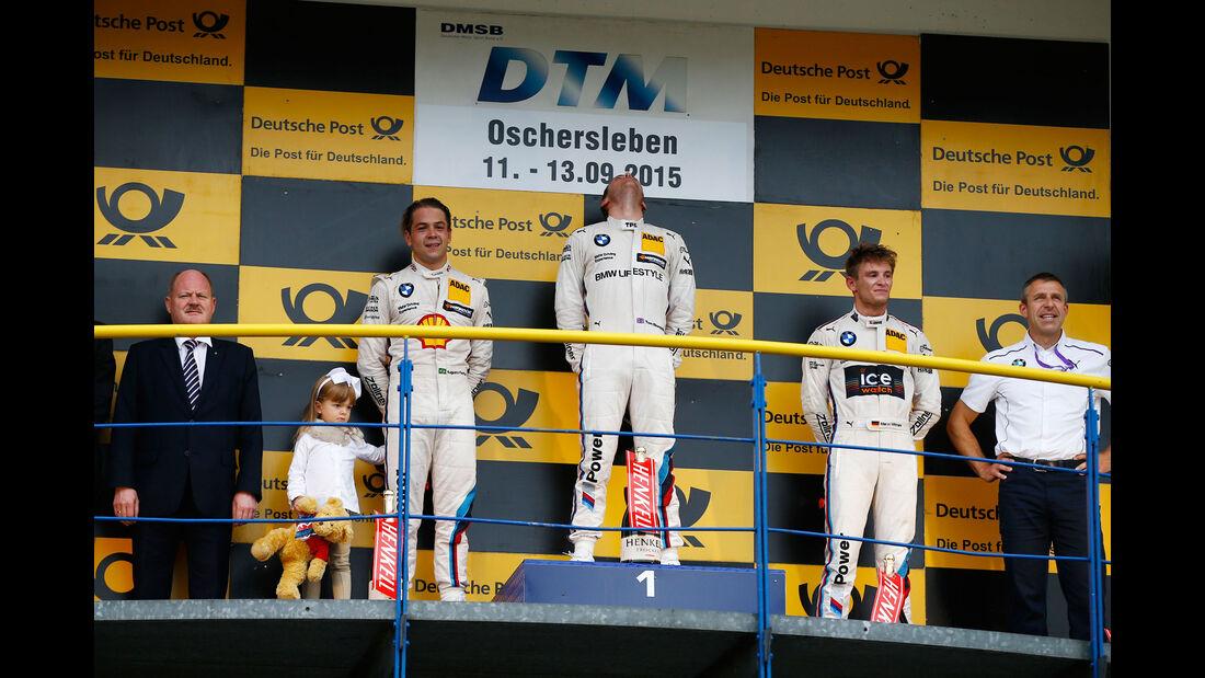 Podest - Blomqvist - Farfus - Wittmann - DTM - Oschersleben - 2. Rennen - Sonntag - 13.9.2015