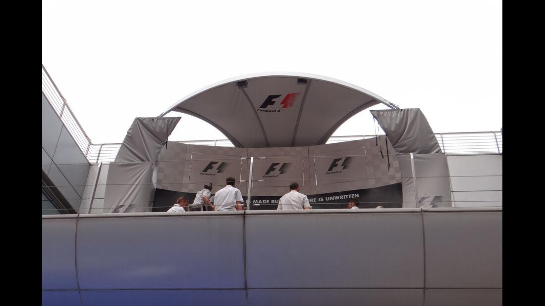 Podest - Formel 1 - GP China - 11. April 2013