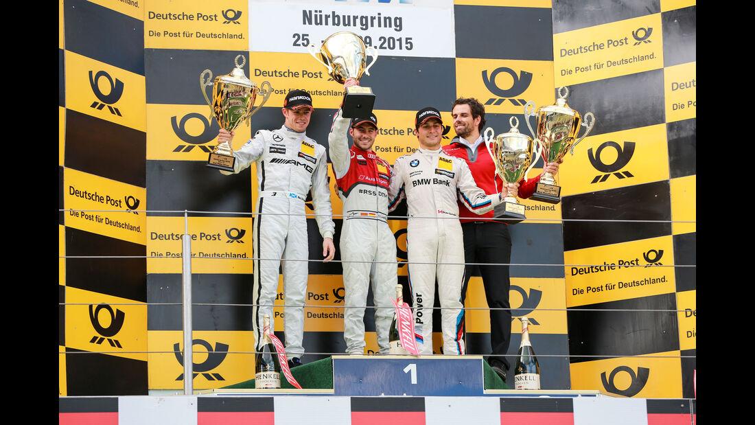 Podest - Molina - di Resta - Spengler - DTM - Nürburgring - 2. Rennen - Sonntag - 27.9.2015