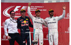 Podest - Rosberg - Verstappen - Hamilton - Formel 1 - GP Japan 2016 - Suzuka