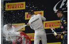 Podest - Rosberg - Vettel - Kvyat - GP China 2016 - Shanghai - Rennen