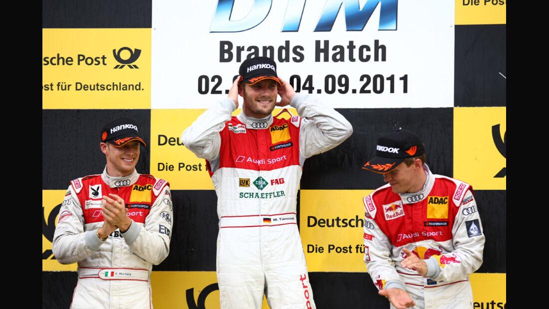 Podium DTM Brands Hatch 2011