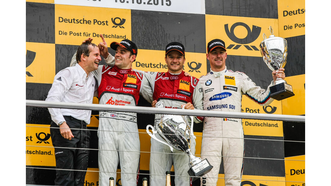 Podium - DTM Hockenheim - 2015