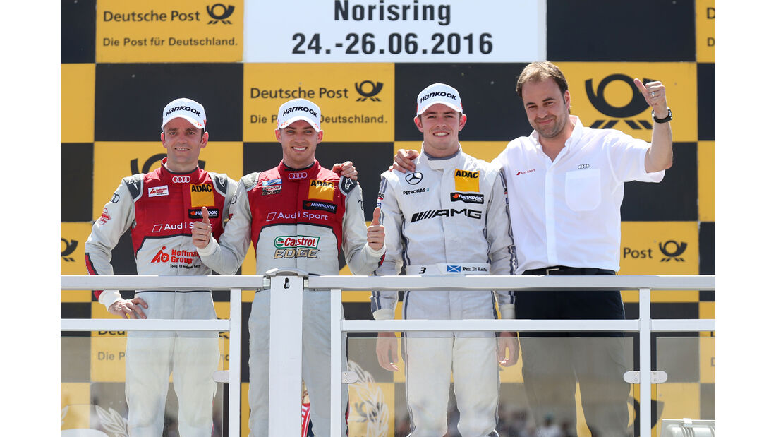 Podium - DTM - Norisring 2016