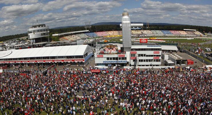 Podium Fans GP Deutschland 2012