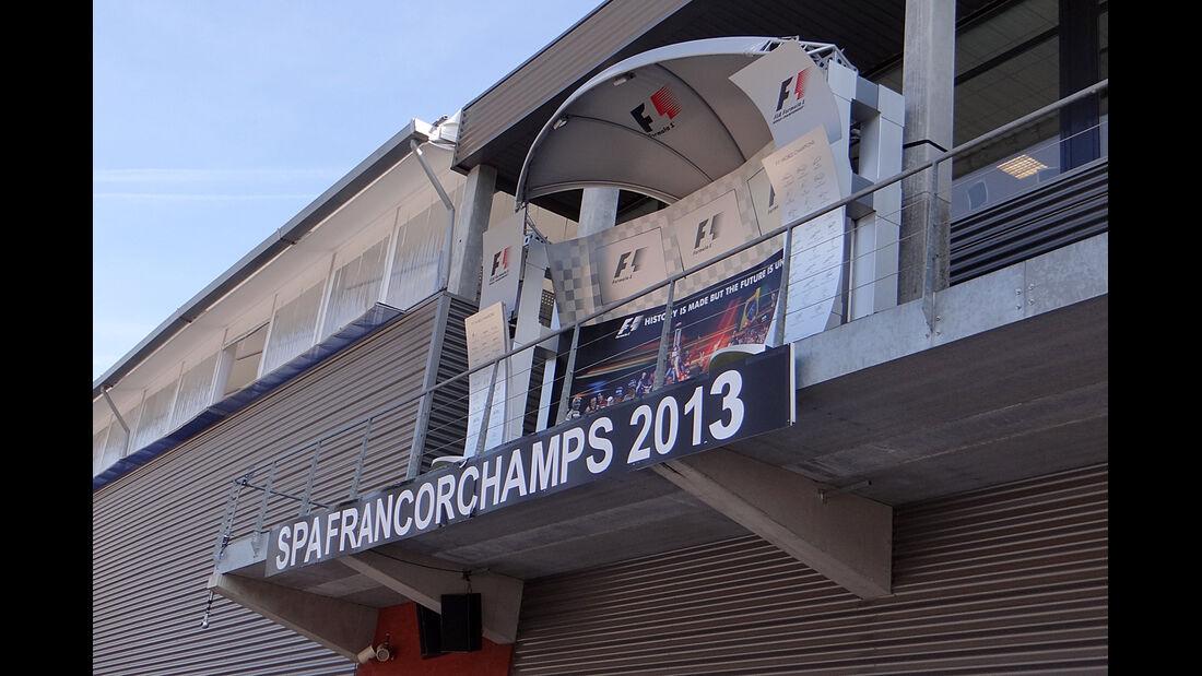Podium - Formel 1 - GP Belgien - Spa-Francorchamps - 22. August 2013