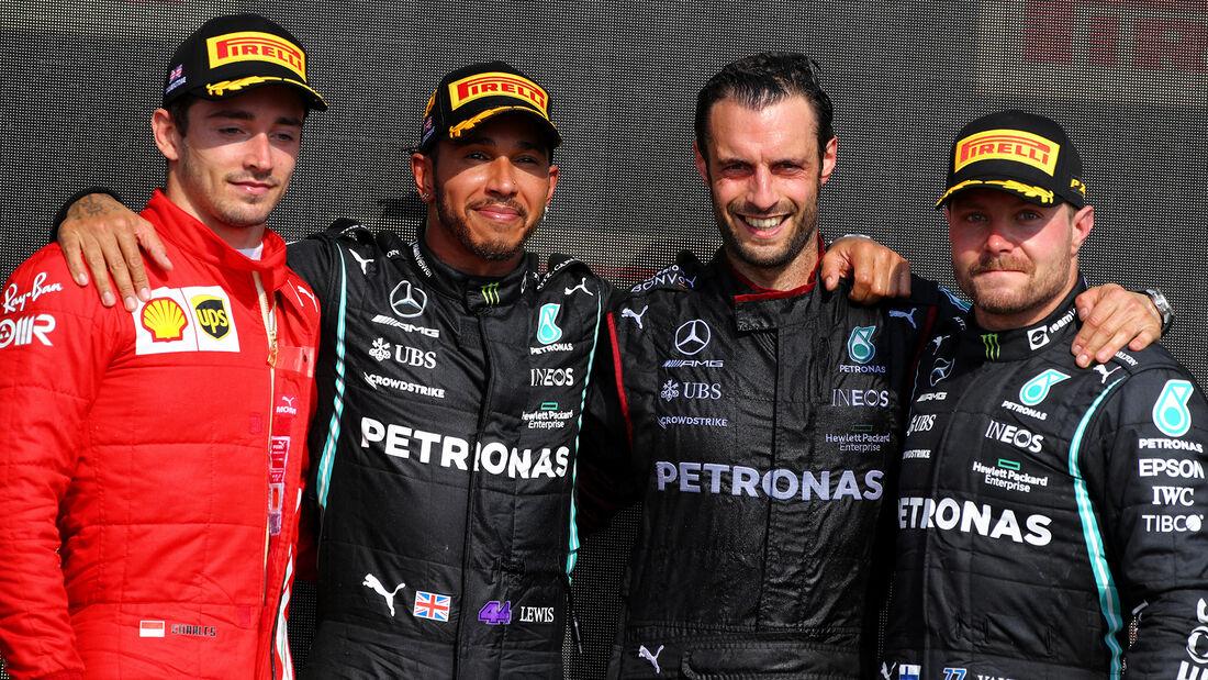 Podium - Formel 1 - GP England 2021