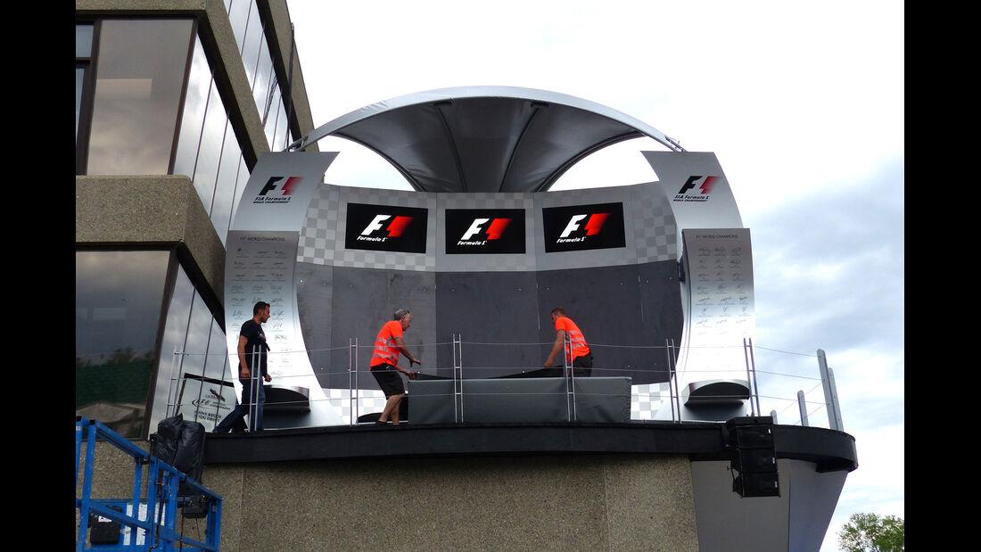 Podium - Formel 1 - GP Kanada - Montreal - 4. Juni 2014