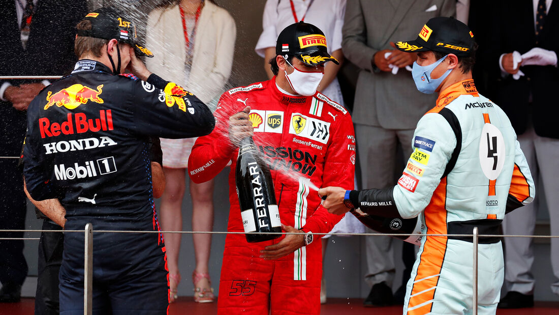 Podium - Formel 1 - GP Monaco 2021