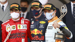 Podium - Formel 1 - GP Monaco - 23. Mai 2021