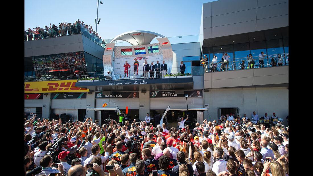Podium - Formel 1 - GP Österreich - Spielberg - 30. Juni 2019