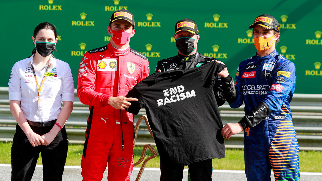 Podium - Formel 1 - GP Österreich - Spielberg - 5. Juli 2020