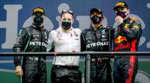 Podium - Formel 1 - GP Portugal 2020