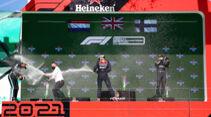 Podium - Formel 1 - GP Portugal 2021