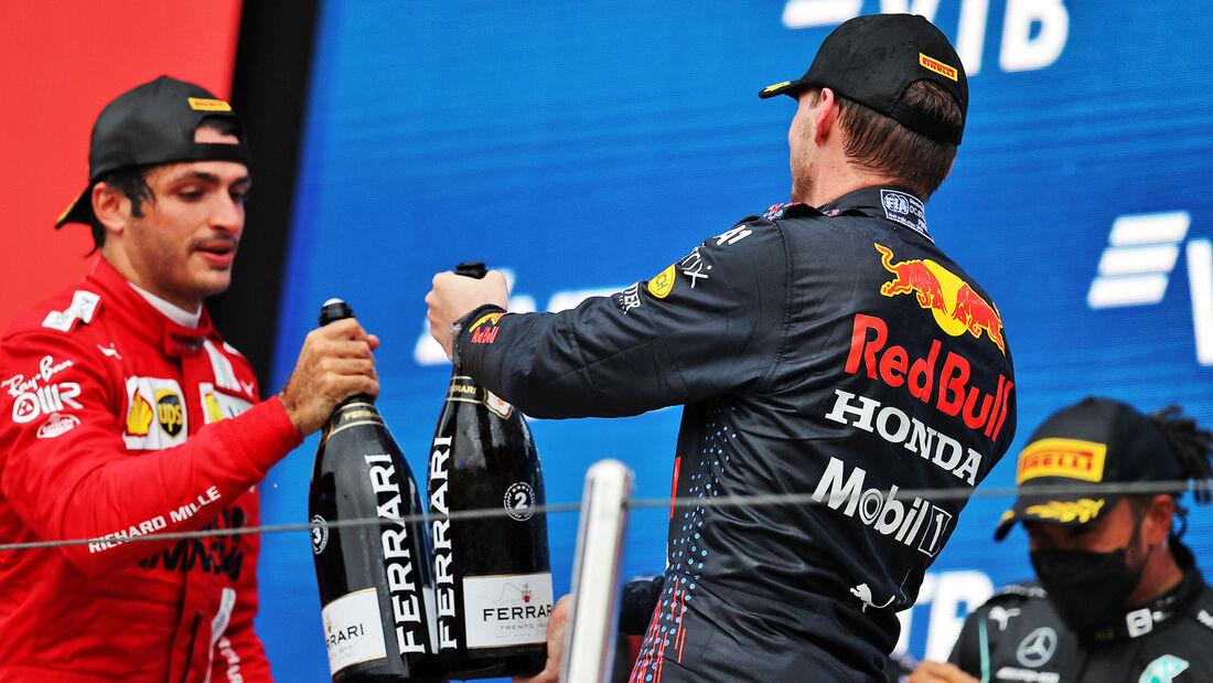 Podium - Formel 1 - GP Russland 2021