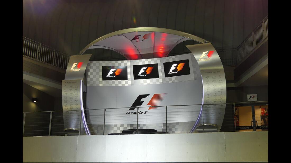 Podium - Formel 1 - GP Singapur - 14. September 2016