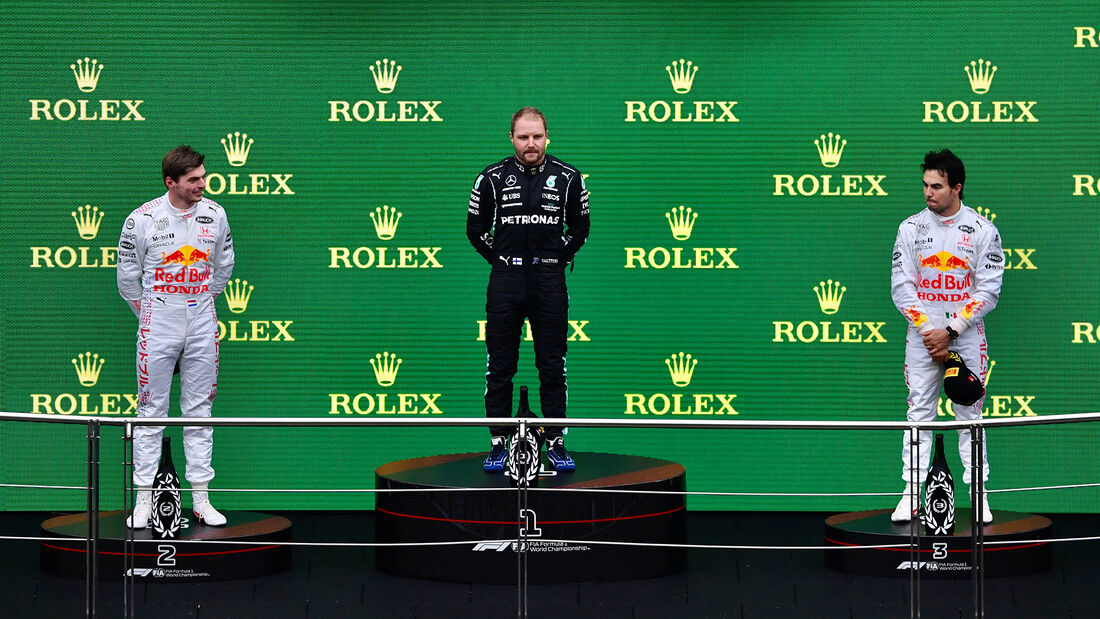 Podium - Formel 1 - GP Türkei 2021