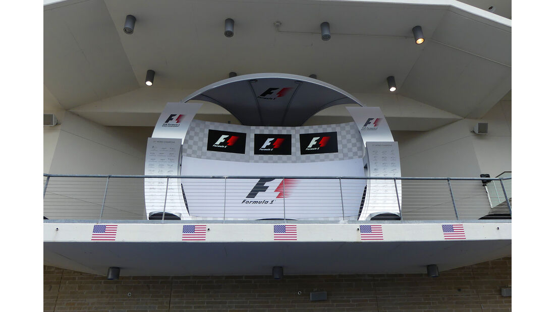 Podium - Formel 1 - GP USA - Austin - 19. Oktober 2016