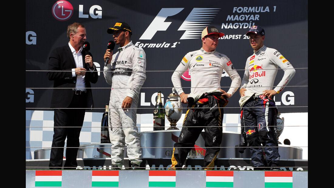 Podium - Formel 1 - GP Ungarn 2013