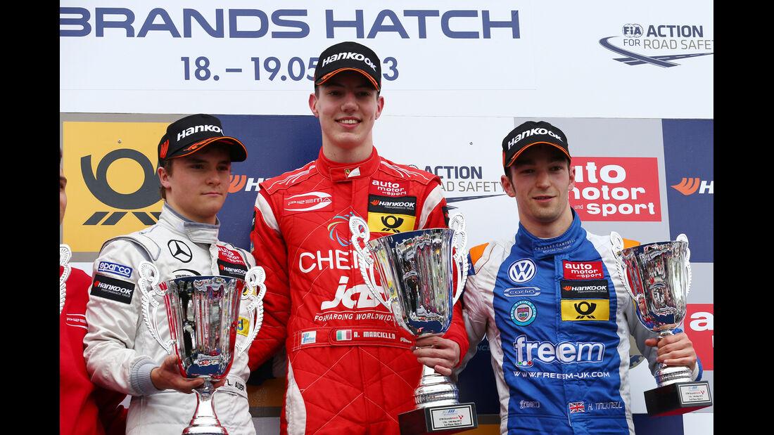 Podium - Formel 3 EM - Brands Hatch - 2013