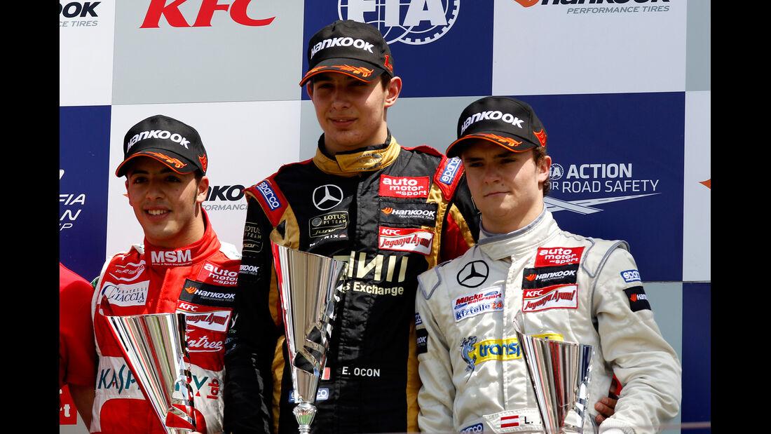 Podium - Formel 3 EM - Budapest (2)