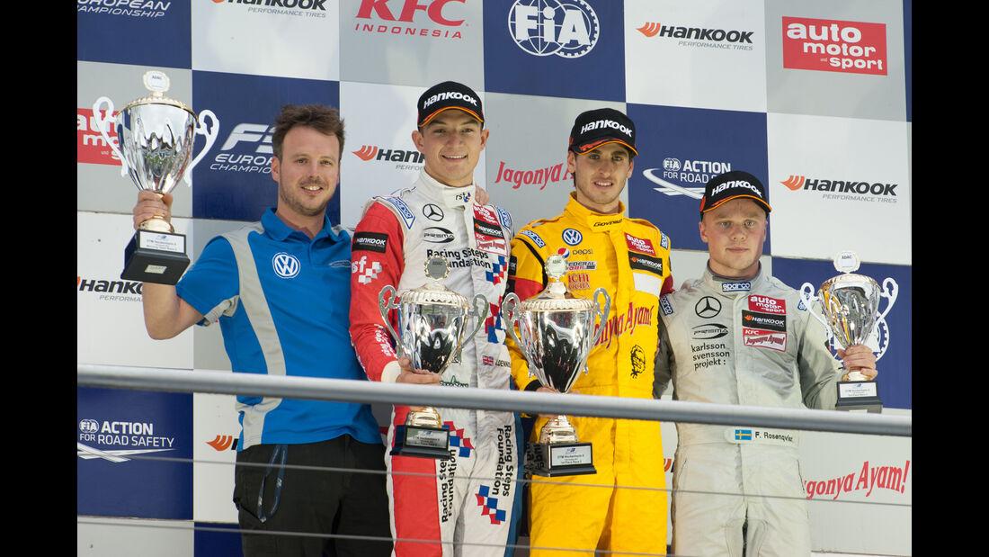 Podium - Formel 3 - Hockenheim 2015