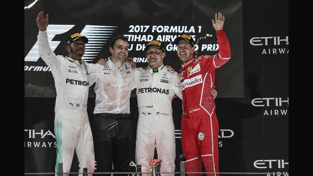 Podium - GP Abu Dhabi 2017