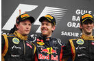 Podium - GP Bahrain 2013
