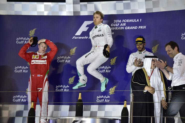 Podium - GP Bahrain 2016