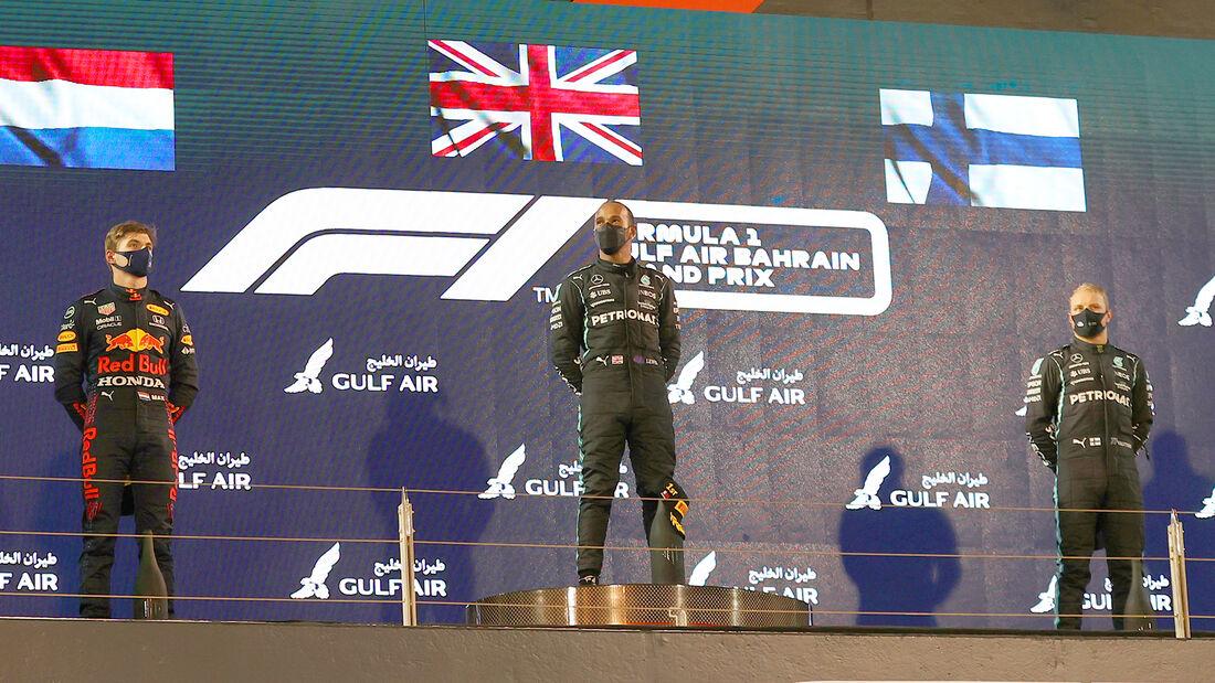 Podium - GP Bahrain - 2021