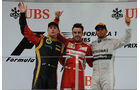 Podium GP China 2013